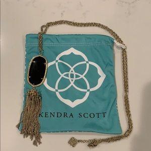 Kendra Scott Rayne Necklace - Black